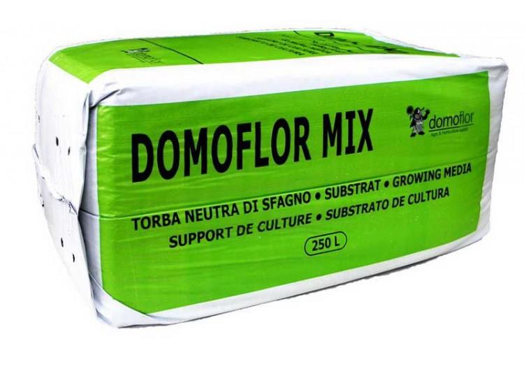 Торф латвийский Domoflor Mix 4, 250 л