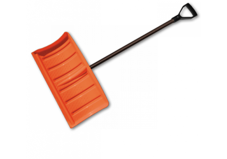 Лопата-плуг Bradas для уборки снега с металлическим черенком