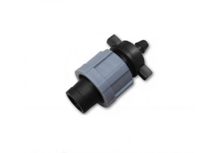 Стартконнектор для ленты и трубки 6мм Bradas - 012190