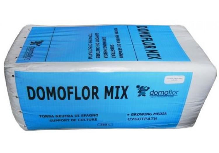 Торф латвийский Domoflor Mix кислый, 250 л. - 013303