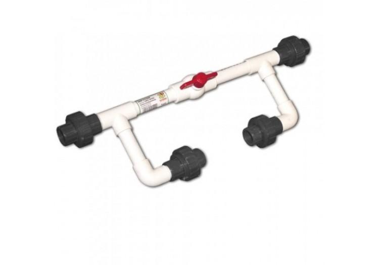 """Байпас Bradas для инжектора Вентури 3/4"""" с резьбовым соединением 3/4"""","""