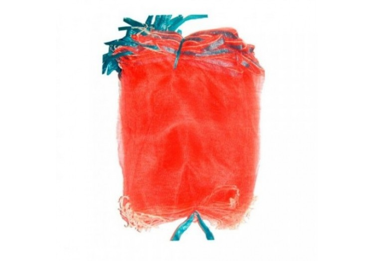 Сетка-мешок, защитная сетка для винограда 22х33 красная 50 шт