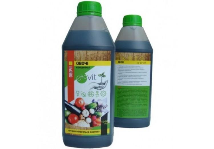 Органо-минеральное удобрение Ekovit 1л., для овощей - 017301