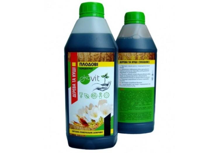 Органо-минеральное удобрение Ekovit 1л., для плодовых деревьев - 017305