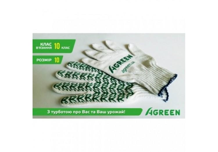 Перчатки садовые Agreen размер 10
