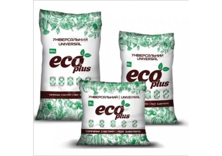 Торфяной субстрат ECO PLUS универсальный 10 л