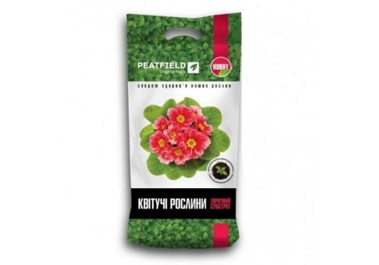 Субстрат Peatfield для цветущих растений 6 л. - 19564