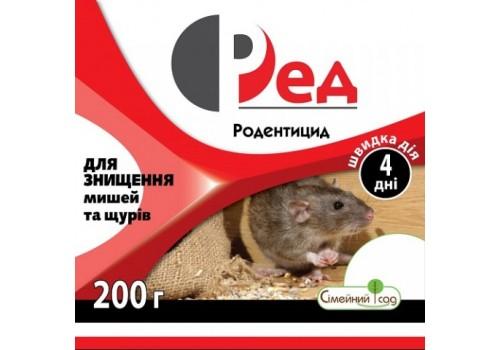 Родентицид Ред Семейный сад тесто-пакет 200 г - 20646