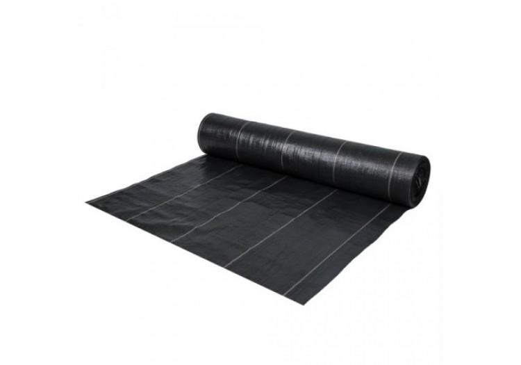 Агроткань черная мульчирующая плотность 135г/м2 1.1х100 м