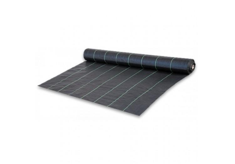 Агроткань черная мульчирующая плотность 70 г/м2 0.4х100 м -
