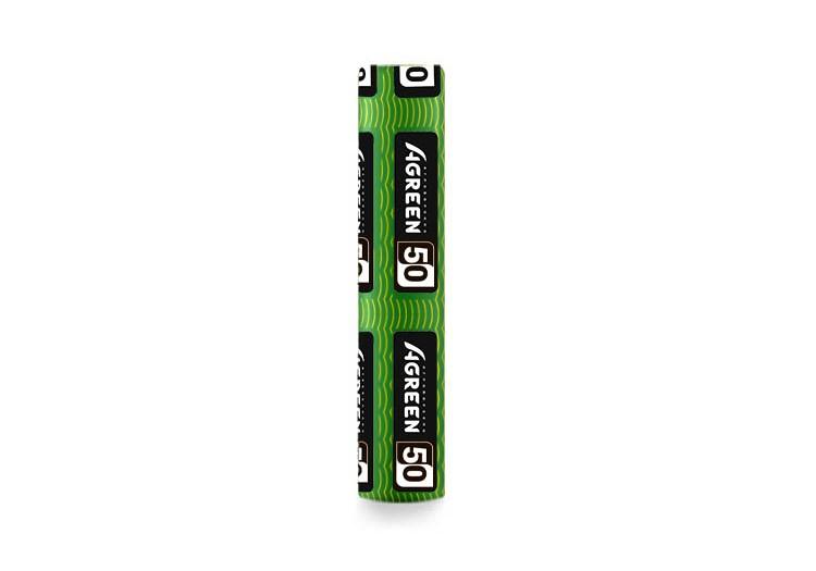 Агроволокно Agreen черно-белое с перфорацией 3 отв (1,07х50)