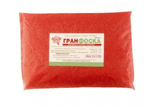 Гранфоска фосфорно-калийное удобрение 1кг