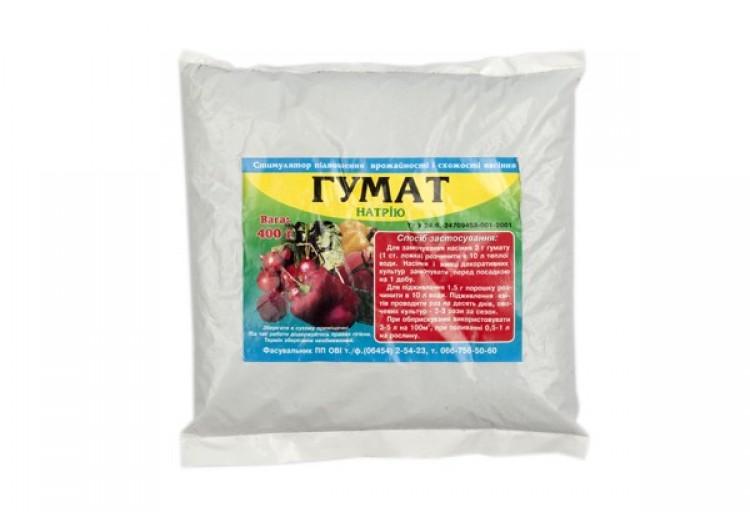 Гумат (натрия) для ускорения роста 0,4 кг