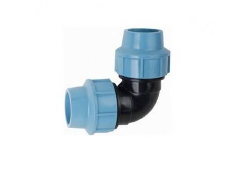 Колено зажимное SantehPlast для трубы 25 мм.