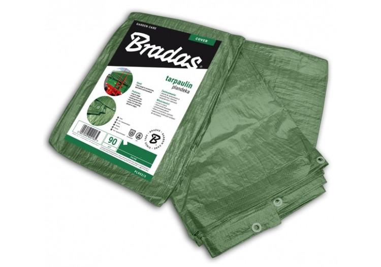 Тент Bradas водонепроницаемый Green 90 г/м² размер 2 х 3м