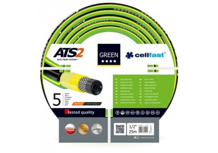 "Шланг для поливу Cellfast Green ATS2 3/4 ""- 25м."