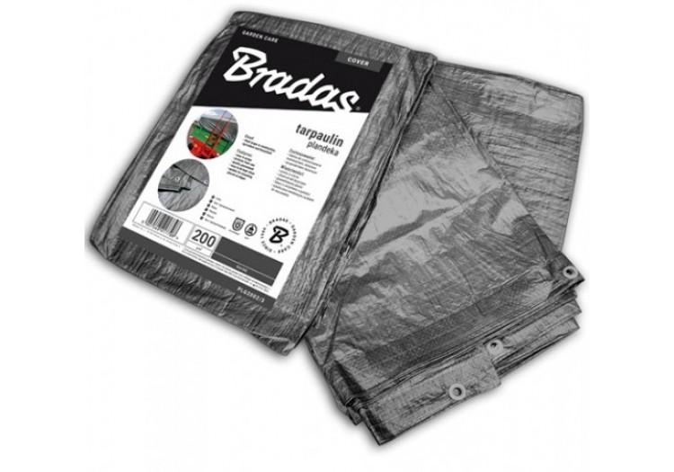 Тент Bradas водонепроницаемый Gray 200 г/м² размер 3 х 4м