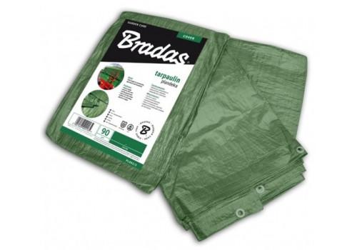 Тент Bradas водонепроницаемый Green 90 г/м² размер 3 х 5м